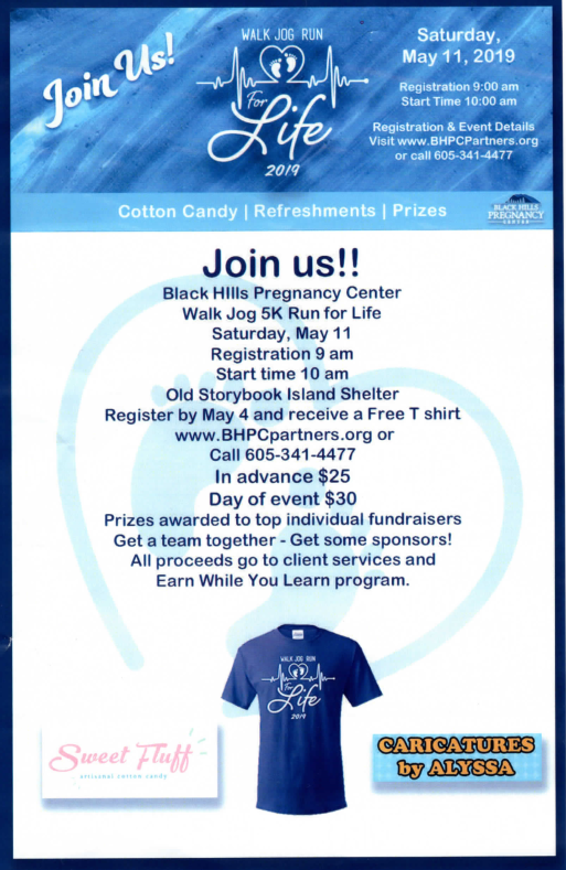 BH Pregnancy Center Walk/Jog/Run For Life